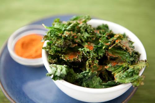 BBQ Kale Chips