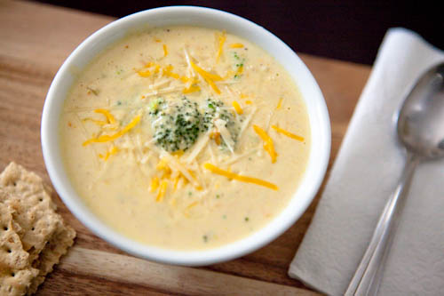 Broccoli and Cheese Chowder