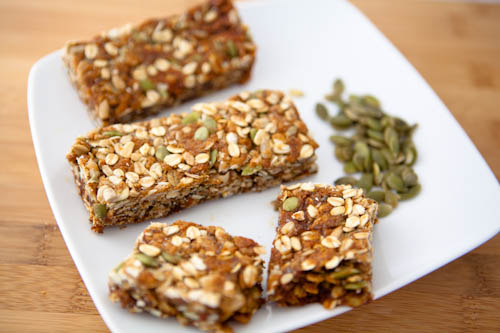 Chewy No Nut Granola Bars
