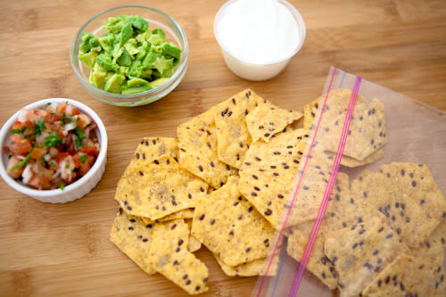 Multigrain Chips and Dip