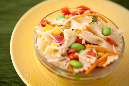Rainbow and Butterflies Pasta Salad