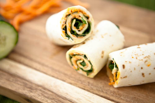 Veggie Lunch Wraps