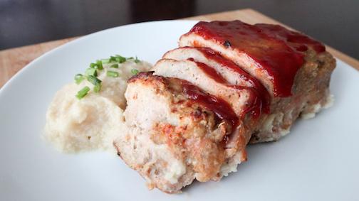 turkey-meatloaf-w-cauliflower-mash